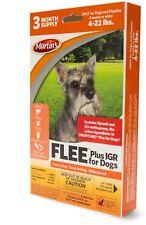 New listing Flee Plus Igr Spot on Dog flea drops 4-22 pound 3 month supply (Frontline Plus)