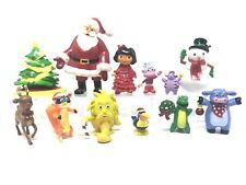 Dora the Explorer Christmas Cake Toppers Set of 12 Figures