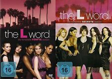 THE L WORD komplette Season Staffel 5+6 NEU NEW OVP 7 DVDs Jennifer Beals Drama