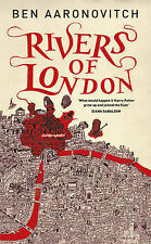RIVERS OF LONDON - Ben Aaronovitch (Hardcover, 2011, Free Postage)