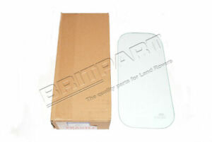 Land Rover Defender Rear Quarter Clear Glass Panel 4mm Thick New