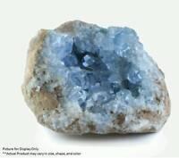 Madagascar Celestite Crystal druzy cluster sky Blue Geode Mineral 1ech 1-2inch