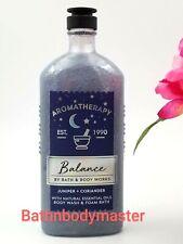 Bath and Body works BALANCE Juniper Coriander  Aromatherapy Body Wash Foam Bath