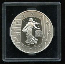 2012 France Silver Sower - 10 years Anniversary  - 10 Euro - Nice!!!