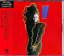 Janet Jackson Control CD 1986 Japan Japanese A&M Records ‎– D22Y3359