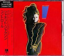 Janet Jackson Control CD 1986 Japan Japanese A&M Records – D22Y3359
