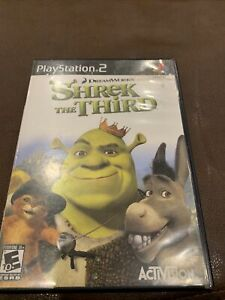 Shrek The Third For PlayStation 2 PS2 Very Good 8E