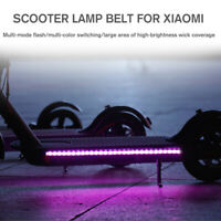 Colorful LED Light Strip Bar Lamp For Xiaomi M365 / M365 Pro Electric 	 q Q Ц