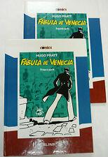 Fábula de Venecia. Hugo Pratt. Nuevo. Tomos I y II. El País