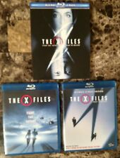 The X-Files Fight the Future & I Want to Believe Blu-ray 2-Pack Box Set Lot