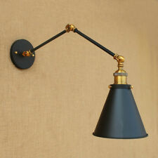 Vintage Wall Lights Indoor Swing Arm Wall Lamp Home Bedroom Black Wall Sconce