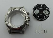 CASE DIAL HANDS CHRONOGRAPH LANDERON FOR MOVEMENT SEAGULL TY 2901 DIAMETER 40MM