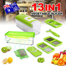 13in1 Food Cutter Dicer Nicer Container Chopper Peeler Vegetable Fruit Slicer