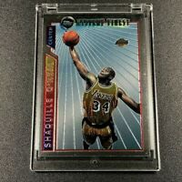 SHAQUILLE O'NEAL 1996 TOPPS MYSTERY FINEST #M12 CHROME INSERT CARD LAKERS NBA