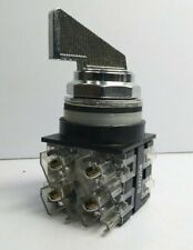 General Electric CR104P Selector Switch connected 2 SX026# NC NO Contact Block