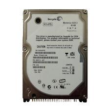 "Seagate Momentus 40GB 4200RPM / 5400RPM PATA IDE 2.5"" Laptop HDD Hard Disk Drive"