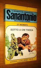 COMMISSARIO SANANTONIO # 27^ INCHIESTA - SOTTO A CHI TOCCA - BERù -1972