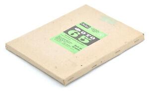 "NOS 25 Sheets Svema Foto-65 18x24cm (7.08x9.45"") Negative B&W Sheet Film!"