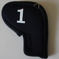 Oversize Neoprene # 1 Iron Head Cover w/Cling Strip Enclosure