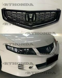 FRONT Bumper Grille for Honda ACCORD CL7 Type-S (Euro-R) Acura 06-08 TSX Mugen