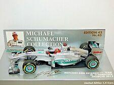 Minichamps Mercedes AMG Petronas F1 Team Michael Schumacher Show Car 2012
