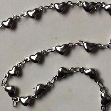 Lobster Stainless Steel Love & Hearts Costume Bracelets
