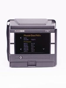 Phase One P40+ 40mp Digital Back For Phase One DF Cameras medium format