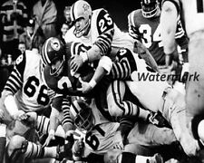 1967 Grey Cup Saskatchewan HB Al ford Tackled Ti Cats Game Action 8 X 10 Photo
