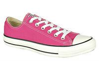 Lace Up Converse Womens Chuck Taylor OX All Star Low Trainers Shoes- Cosmos Pink