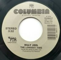 Billy Joel The Longest Time Christie Lee Columbia 1983 45 RPM (VG)