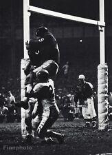1950s NFL FOOTBALL Browns WARREN LAHR & ALEX WEBSTER Giants Photo Art 16x20