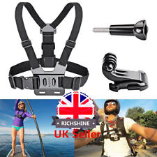 UK Body Chest Strap Harness For GoPro Mount Support GoPro Hero Sports Action Cam