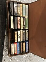 """Lot of 22 """" 8 """" Track Tapes Elvis Presley, Ray Prince, Solis Gold Party And More"""