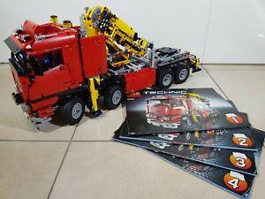Lego Technic Truck mit Power-Schwenkkran 8258, Technik Power Functions Lastwagen