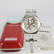 swatch irony hot fire yls145g orologio donna acciaio nuovo raro da collezione