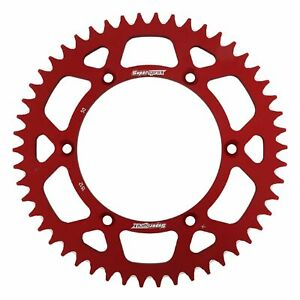 New Red Aluminum Sprocket 50T Chain Size 520
