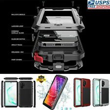 Aluminum Heavy Duty Case Cover Fr Samsung S20+ Ultra S10 S9 S8, Note 9/8/10 Plus
