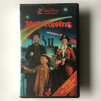 Mary Poppins. VHS Video Tape Original 1984 Clamshell Vintage Walt Disney Film