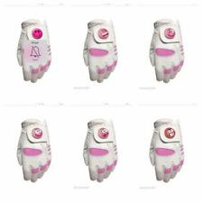 Ladies All Weather Golf Glove. Size Small. Pink Smiley Ball Marker. Left Hander
