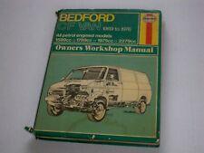 Bedford Cf Van Camper Campervan Bavettes Bavettes