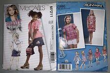 Stuff by Hillary Duff & Project Runway Girls Patterns Skirt Shirt & More Sz 7-16