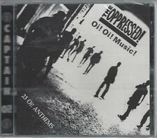 THE OPPRESSED - Oi! Oi! MUSIC! - (still sealed cd) - AHOY CD 5