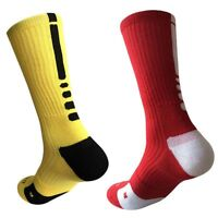 Men Boy Long Socks Warm Football Socks Basketball Sports Anti Slip Socks