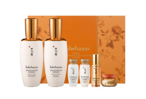 Sulwhasoo Concentrated Ginseng Renewing Skincare Set/Toner/Emulsion/Travel Kit