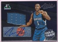 KRIS DUNN RC 2016-17 ABSOLUTE TOOLS OF THE TRADE JERSEY AUTO #46/49 AUTOGRAPH
