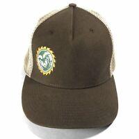 NEW ERA DODGE RAM LOGO MESH VENTED ADJUSTABLE SNAPBACK BASEBALL HAT CAP