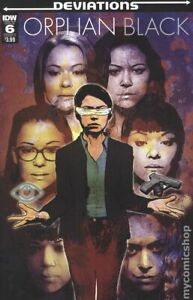 Orphan Black Deviations #6A VF 2017 Stock Image
