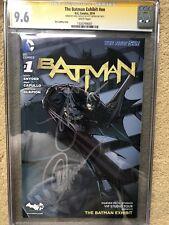 DC New 52! Batman #1 The Batman Exhibit Variant! CGC 9.6 Snyder Capullo