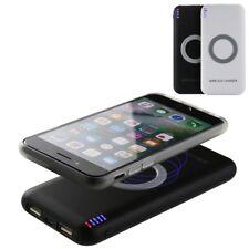 Qi Induktive Ladestation Mobile Ladestation Kabellos Handy Smartphone Power Bank