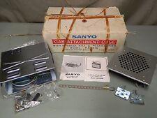 VINTAGE SANYO RA-810 Car Attachment Kit Case Speaker for 10G-810 Portable Radio